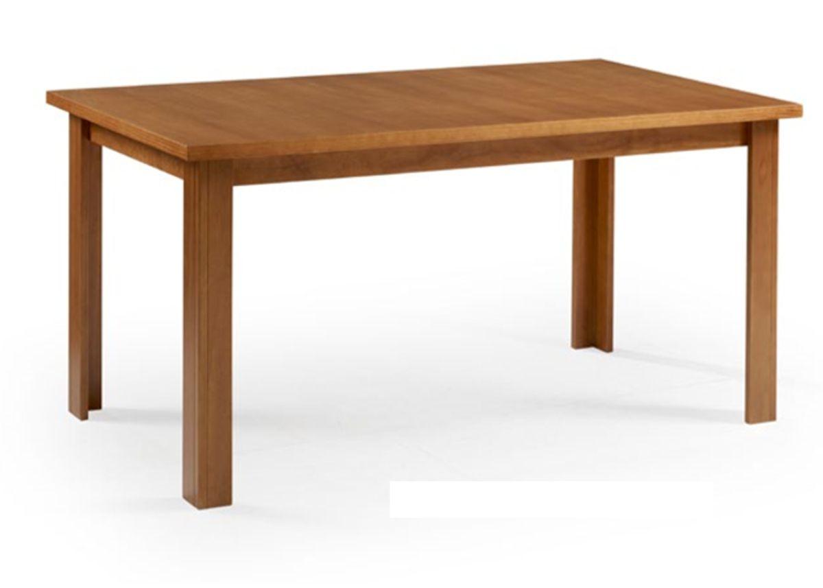 Mesa de jantar Cali Retangular (160cm) com Tampo de Madeira