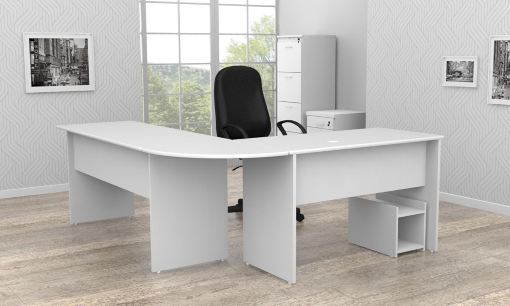 Mesa de Escritório Painel - (Tamanho de 100cm x 100cm)  - Mdf