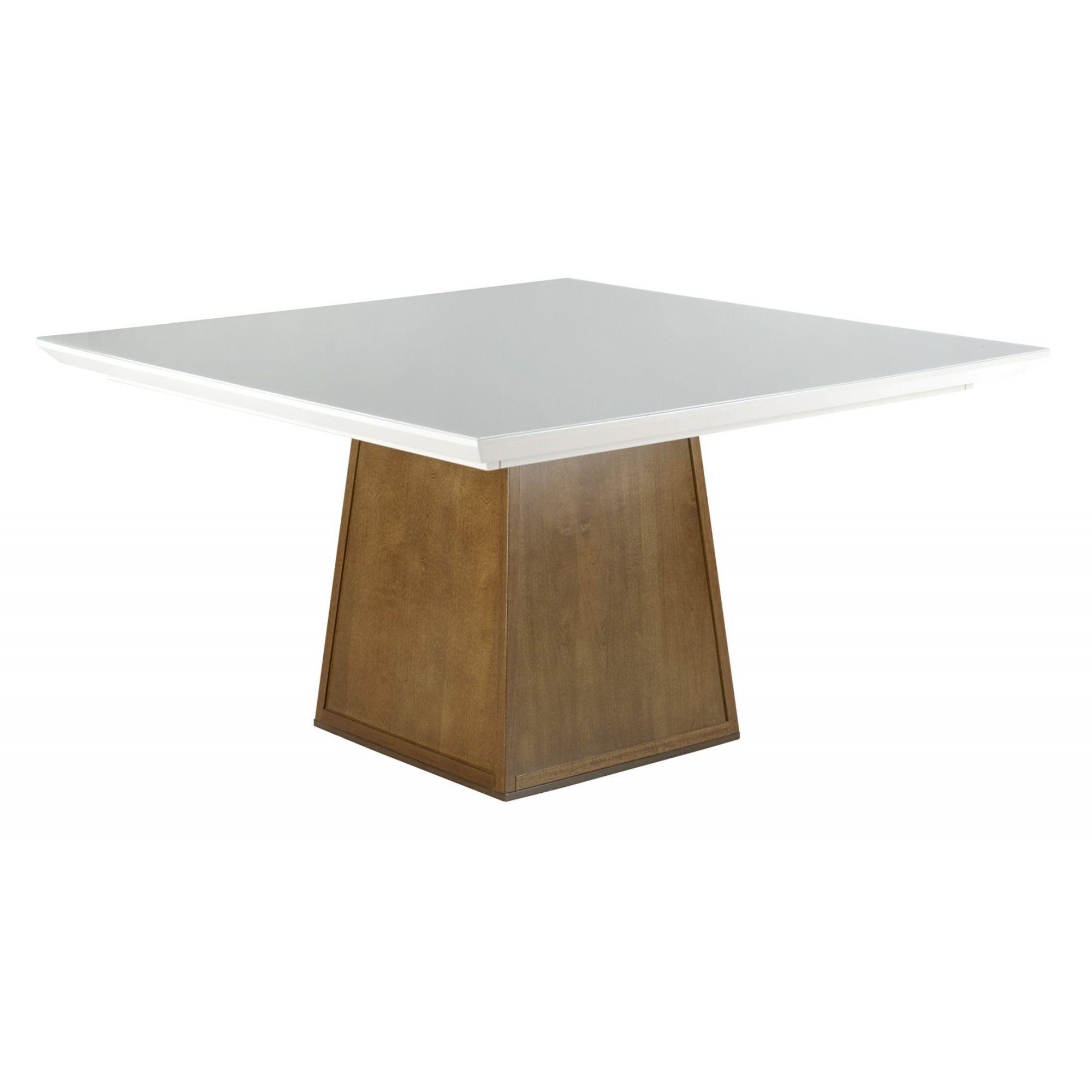 Mesa de Jantar Quadrada Pirâmide - (120 x 120cm ) - Euclar