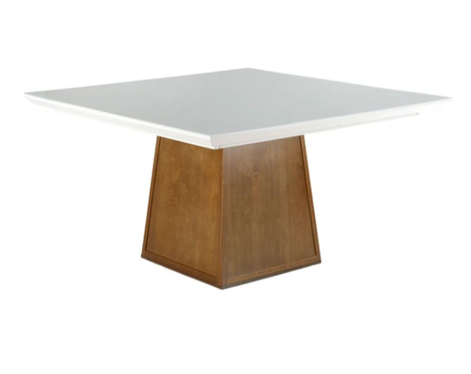 Mesa de Jantar Quadrada Pirâmide - Tamanho (150 x 150cm ) - Euclar