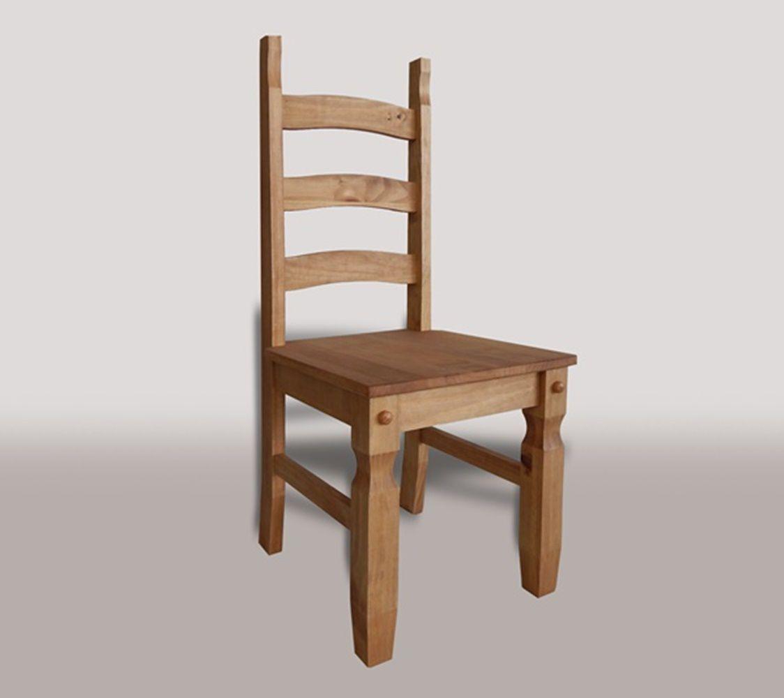 Mesa Rústica, Tamanho (80 x 150cm) com 6 Cadeiras - Madeira Maciça - Cera Mel
