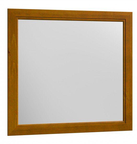 Moldura com Espelho Esmeralda - Cor Teca