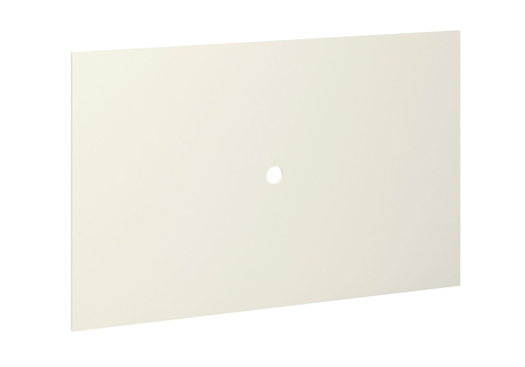 Painel de Parede para Tv Rubi no Tamanho (90 x 140cm) - Madeira Maciça - Cor Branco
