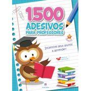 1500 Adesivos Para Professores: Incentive Seus Alunos a Aprender - Azul