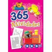 365 Atividades: Ursinho - Capa Rosa