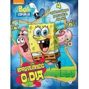 Bob Esponja Aproveitando o Dia - 4 Quebra-cabeças Para Você se Divertir