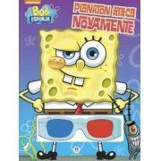 Bob Esponja Plankton Ataca Novamente - Livro 3-d