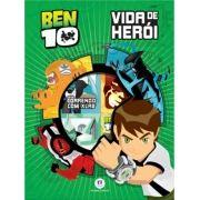 MINIBIBLIOTECA BOX BEN 10 VIDA DE HERÓI - 06 VOLUMES