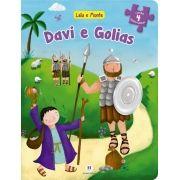 Davi e Golias - Coleção Leia e Monte - Livro Quebra-cabeça