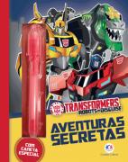 Diário Mágico- Transformers aventuras secretas