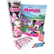 DISNEY- TUBO HISTÓRIAS PARA COLORIR MINNIE