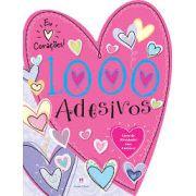 Eu Amo Corações: 1.000 Adesivos - Coleção Adesivos