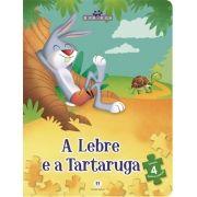 Fabulas: A Lebre e a Tartaruga - Livro Quebra-cabeça
