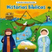 Histórias Bíblicas - Coleção 5 Quebra-cabeças Divertidos - Acompanha Quebra-cabeça