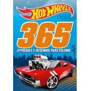 Hot Wheels: 365 Atividades e Desenhos Para Colorir - Maior