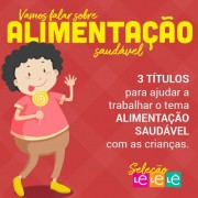 KIT 03 LIVROS - ALIMENTAÇÃO SAUDÁVEL