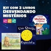KIT 03 LIVROS- DESVENDANDO MISTÉRIO