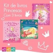 KIT 03 LIVROS- PRINCESAS