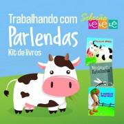 KIT 03 LIVROS - TRABALHANDO O TEMA PARLENDAS