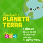 KIT 04 LIVROS- ESTUDANDO O PLANETA TERRA