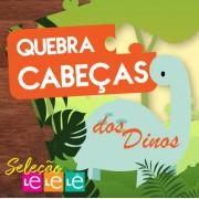 KIT 04 LIVROS- QUEBRA CABEÇA