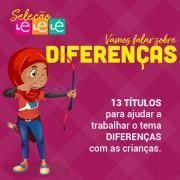 KIT 13 LIVROS- TRABALHANDO O TEMA DIFERENÇAS