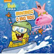 LIVRO DE BANHO - BOB ESPONJA - BRINCANDO O ANO