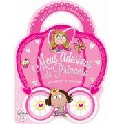 Meus Adesivos de Princesas: Mais de 1.000 Adesivos - Bolsa de Atividades - Coleção Adesivos