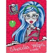 Monster High: Ghoulia Yelps, a Zumbi - Livro Quebra-cabeça