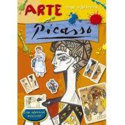 Picasso - Coleção Arte com Adesivos - Com Adesivos Incríveis
