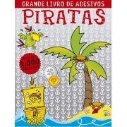 Piratas - Coleção Grande Livro de Adesivos
