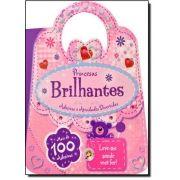 Princesas Brilhantes: Adesivos e Atividades Divertidas