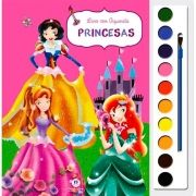 Princesas - Livro com Aquarela