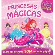 Princesas Mágicas: Com Incríveis Pop-ups 3d