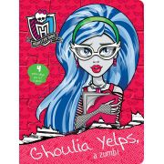 QUC-LIC. MONSTER HIGH- GHOULIA YELPS A ZUMBI
