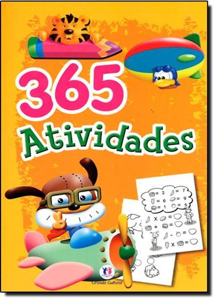 365 Atividades: Amarelo e Laranja- Nova Ortografia