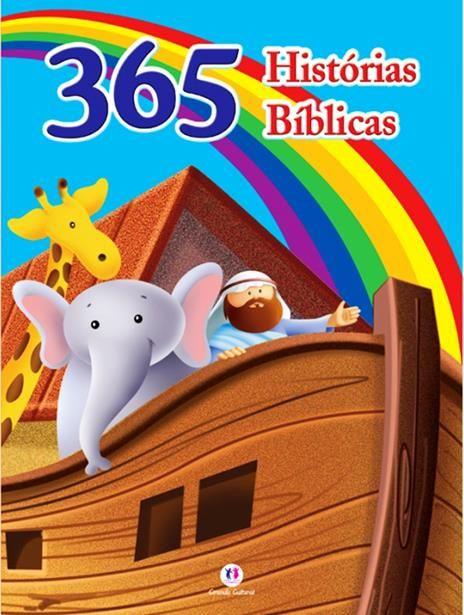 365 Histórias Bíblicas - Livro Almofadado