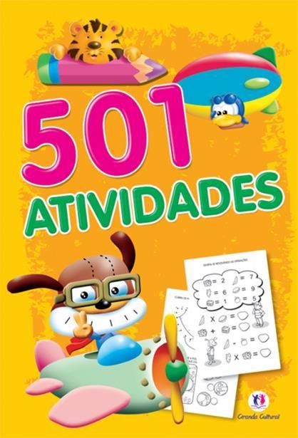 501 Atividades - Amarelo e Laranja