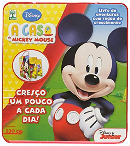 A CASA DO MICKEY MOUSE - COM RÉGUA DE CRESCIMENTO