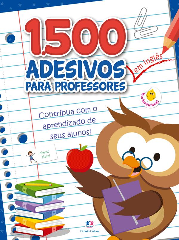 1500 ADESIVOS - CONTRIBUA COM O APRENDIZADO