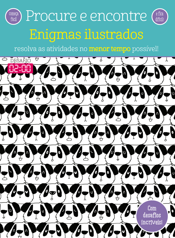 PROCURE E ENCONTRE - ENIGMAS ILUSTRADOS