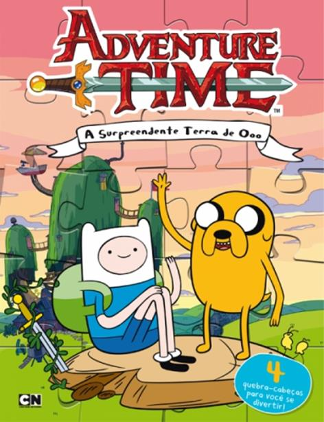 Adventure Time: A Surpreendente Terra de Ooo - Acompanha Qubra-cabeça
