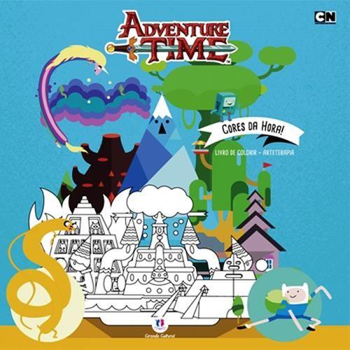 Adventure Time: Cores da Hora! - Livro de Colorir