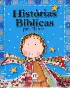 LIVRO HISTORIAS BÍBLICAS PARA MENINOS