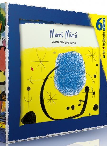 Arte É Infância - Box Com 6 Livros
