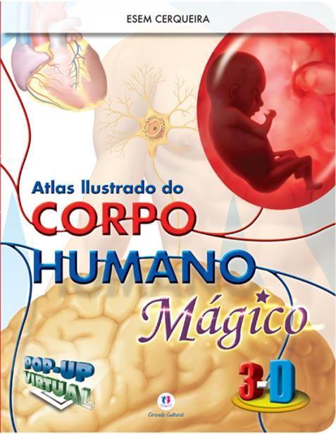 Atlas Ilustrado do Corpo Humano Mágico 3d
