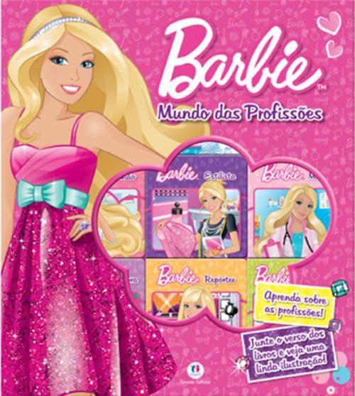Barbie: Mundo das Profissões - Box Com 9 Livros