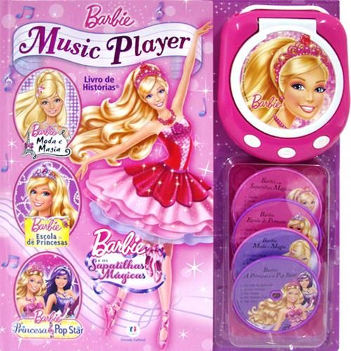 Barbie Music Player - Livro de Histórias