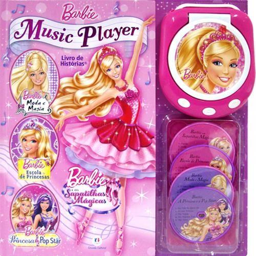 Barbie Music Player - Livro de Histórias