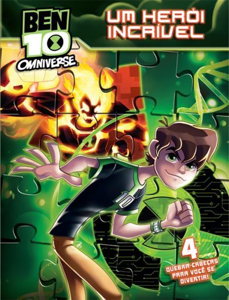 Ben 10 Omniverse: Um Herói Incrível - Coleção Quebra-cabeças
